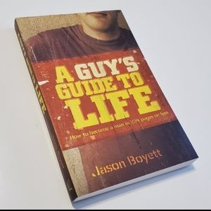 BOOK TEEN CHRISTIAN A GUY'S GUIDE TO LIFE NEW
